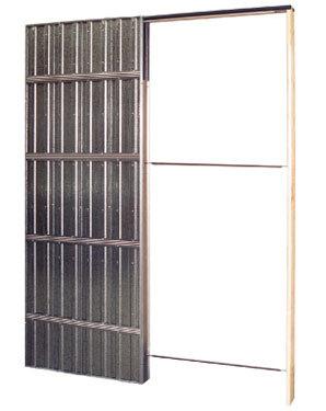 Pladur acorazol puertas acorazadas estructuras for Puertas corredizas metalicas